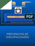 prevencion de discapacidades
