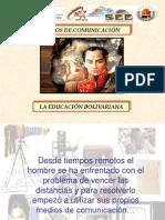 D-USO DE LOS MEDIOS DE COMUNICACIÓN