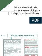 Metode Standardizate Caracterizare Biomateriale