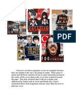 Examples of Magazine Covers