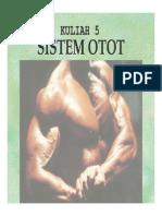 Kuliah 5 - Sistem Otot