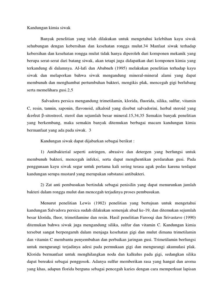 Kandungan Kimia Siwak 5 Batang 1539023601v1