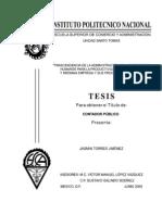 Administración de RRHH y productividad en pymes Tesis 2009