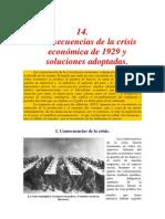 consecuencias y recuperación de la crisis de 29