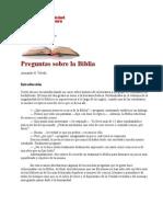 Preguntas Sobre La Biblia (Armando H. Toledo)