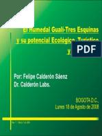 El Humedal Guali Tres Esquinas