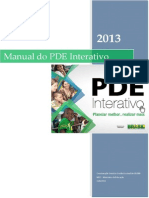 Manual PDE Interativo 2013