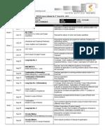 Course Calendar Phy10 A4