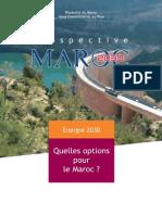 Prospective Maroc 2030 _ Energie 2030, Quelles Options Pour Le Maroc