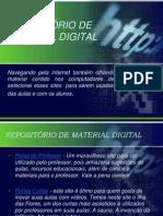 REPOSITÓRIO DE MATERIAL DIGITAL slide