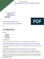 Cavalheirismo _ Canal do Búfalo