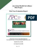TCSHSS Evaluation Report