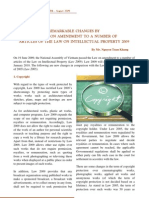 Changes of IP Law 2009 E