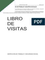 Libro de visitas de la inspección de trabajo y seguridad social