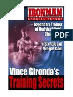 Vince Gironda - Training Secrets
