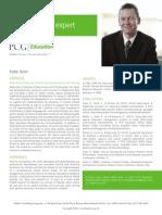 Robb Geier, PCG Education Subject Matter Expert