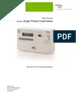LandisGyr Generation Meter 5235 User Manual Version 5 0