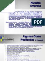 Presentación de G.L.V. Grupo Luvitec Venezuela C.A._Abril 2012.pdf