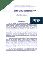 Morfologia Fluvial y Su Influencia