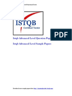 Istqb Advanced Level Sample Papers