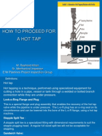 How to Proceed for a Hot Tap