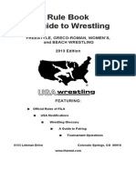 2013 USA Wrestling Rule & Guide Book
