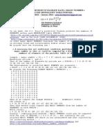 The Predictive Formula of QUANTUM MAGIC NUMBERS by JC Perez