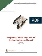 BeagleBone Audio RevA1 Srm