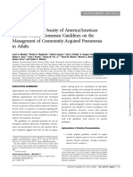 Management of Community-Acquired Pneumonia