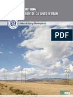Guide to Permitting Electric Transmission Lines in Utah