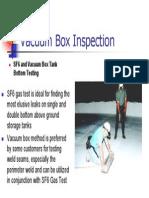 Vacuum Box Inspection