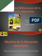Fundamentos Biblicos Calidad de La Educacion