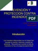 13. Prevención y protección contra incendios