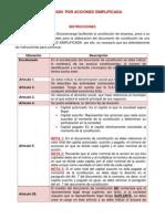 MODELO DE CONSTITUCIÓN S.A.S.
