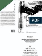 Ruth Sautu El método biográfico