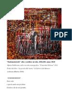 pittura e poesia, dell'artista Patricia del Monaco www.patriciadelmonaco.it