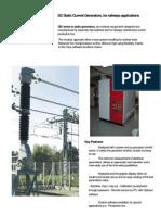 DC current generator