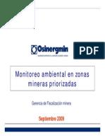 Monitoreo Por Zonas Mineras - 2008