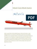 Babur - Transportable Land Attack Cruise Missile System