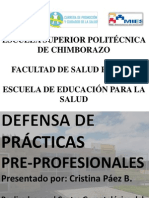 defensa de prácticas