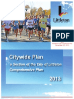 DRAFT - Littleton Citywide Recommended Plan