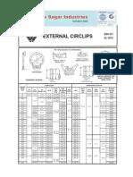 External Circlips