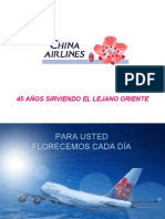Presentacion de Chine Airlines 2004