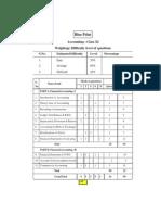 Paper AccountingcomClass XI