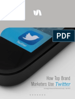 How Top Brand Marketers Use Twitter