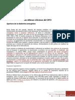 Ultimas Reformas Del 2013