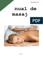 Manual de masaj