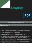 R Language Introduction