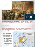 Familia Real e Independencia Do Brasil