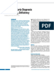 Causes and Early Diagnosis of Vitamin B12 Deficiency